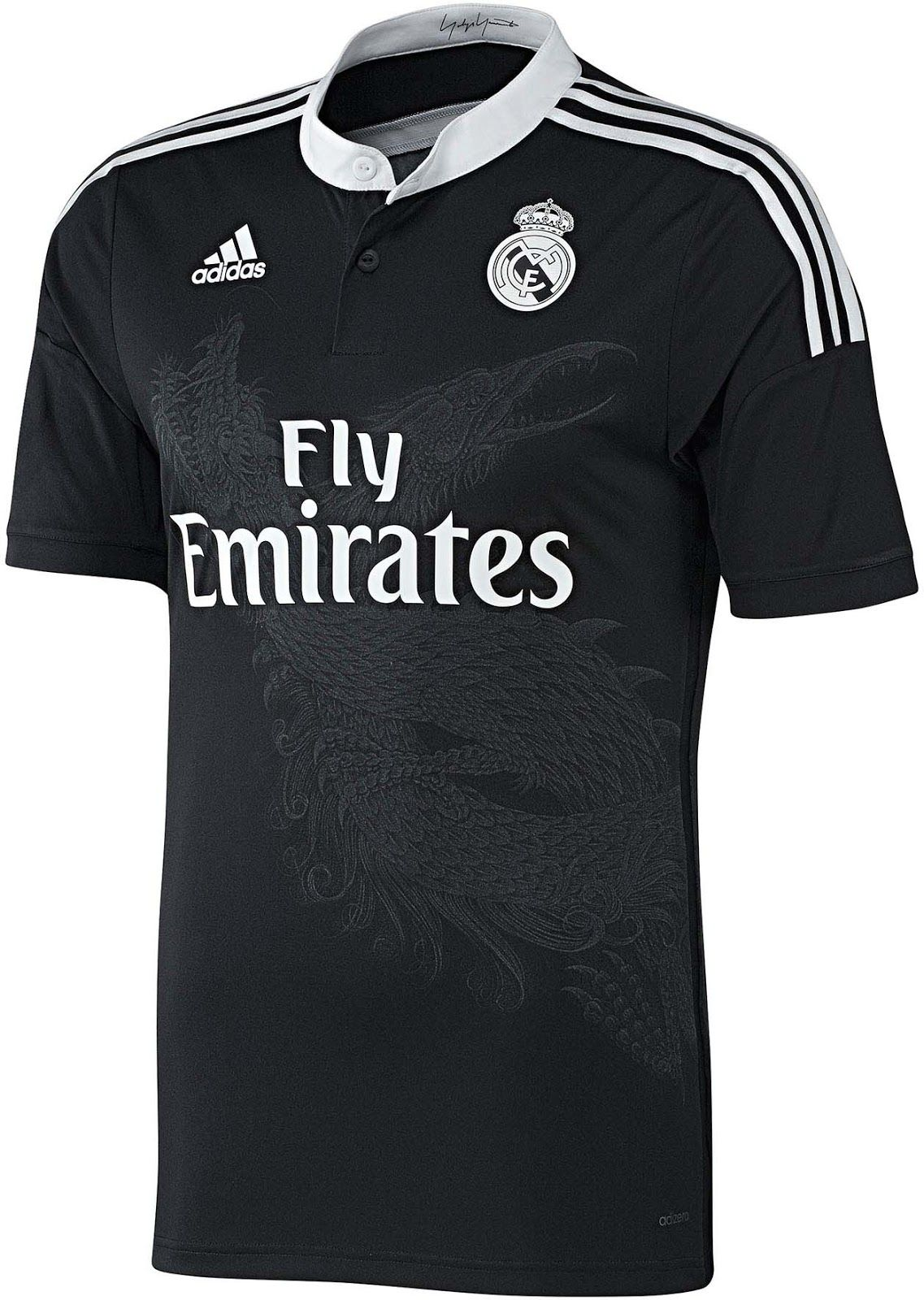 6b9a6255b Real Madrid Third Kit for 2014-15 Season | Real Madrid | Real madrid third  kit, Real madrid shirt, Adidas