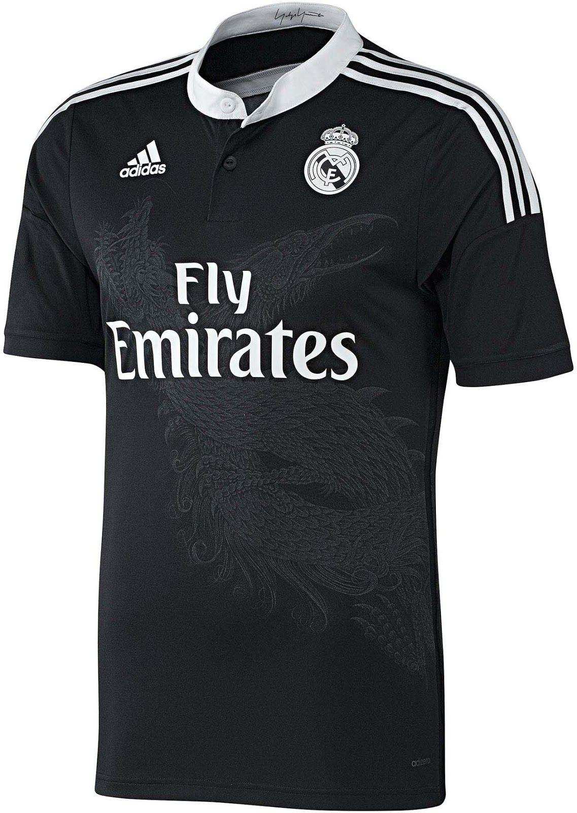 e85d6b307ae ... adidas Real Madrid 14-15 Yamamoto Dragon Third Kit ...