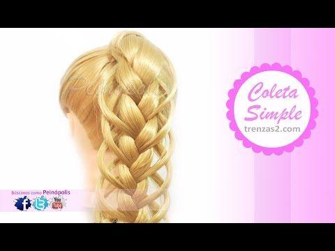 Peinados Faciles Recogidos con Trenzas CHIC DE MODA! - YouTube