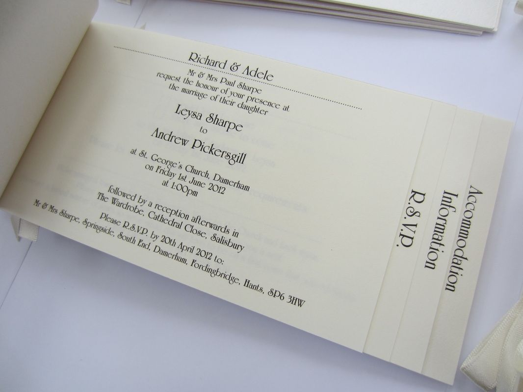 Cheque Book Wedding Invitations Google Search