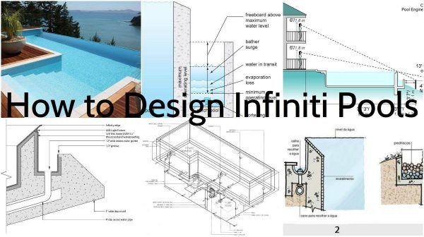 How To Design Infinity Pool Pool Construction Pool Infinity Pool
