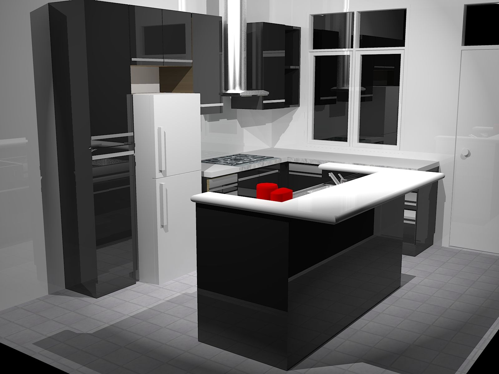 Fascinating 10 X 11 Kitchen Design : Best Photos Of X Kitchen With Island X  Kitchen Part 22