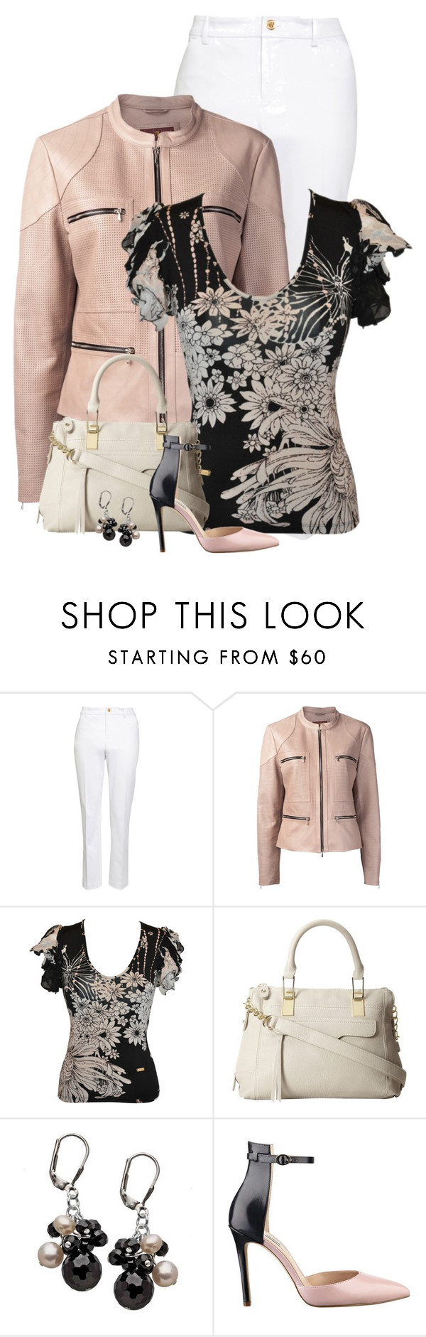 """""""Onyx Pearl"""" by meltog ❤ liked on Polyvore featuring Lauren Ralph Lauren, 7 For All Mankind, Roberto Cavalli, Steve Madden and GUESS"""