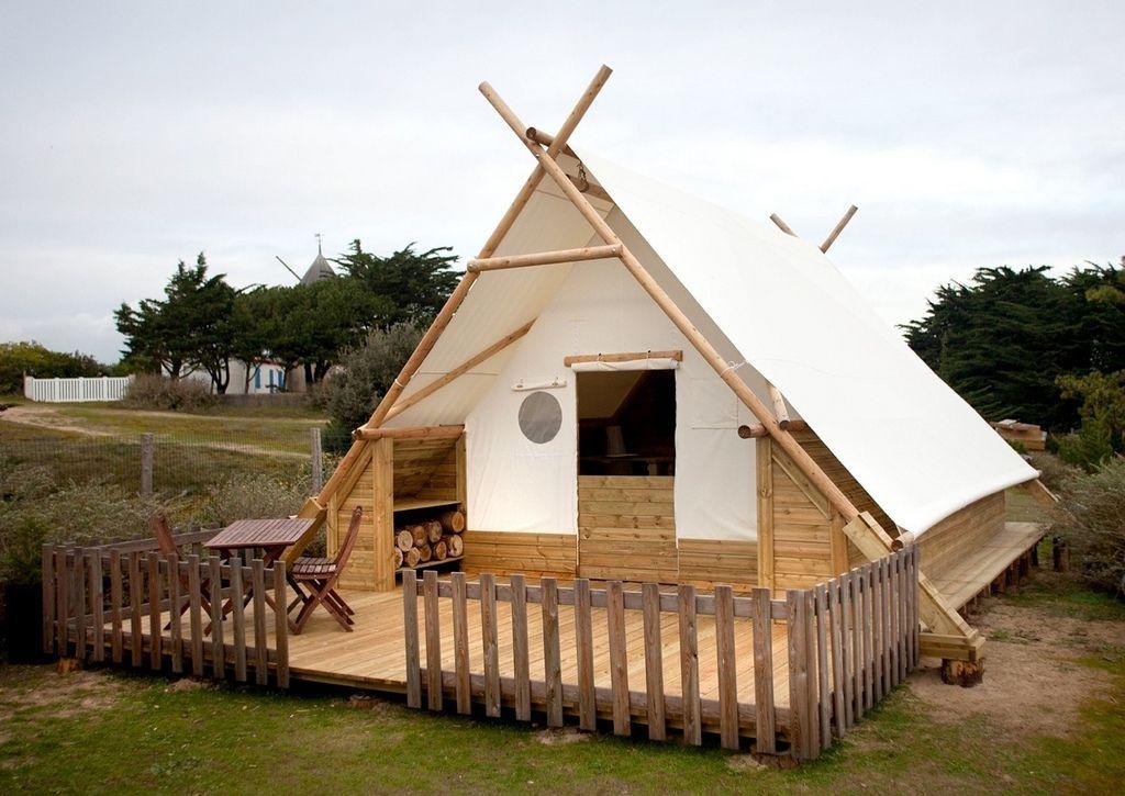 Dise os de casas para acampar originales y ligeras - Seguros para casas de madera ...