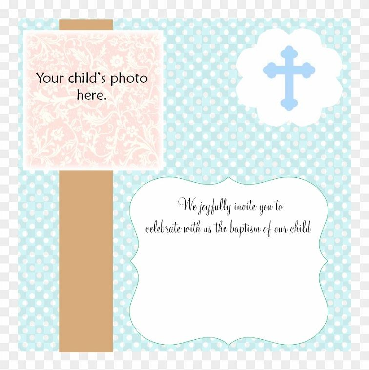 Baptism Invitation Template Blank Invitation Card Design Christening Invitations Christening Invitations Boy