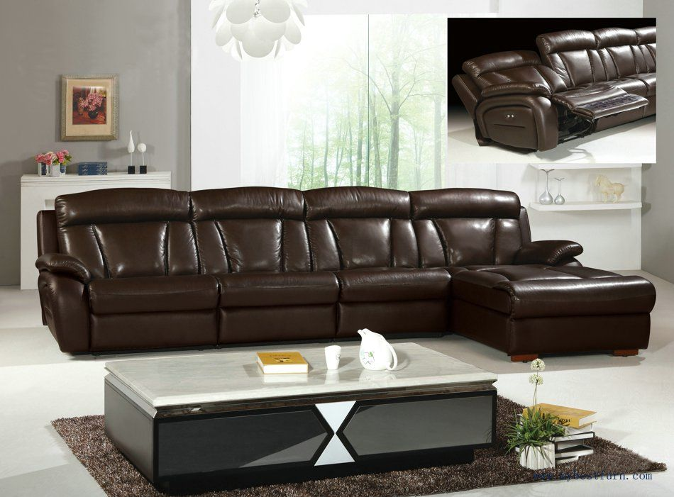 L Shaped Recliner Sofa