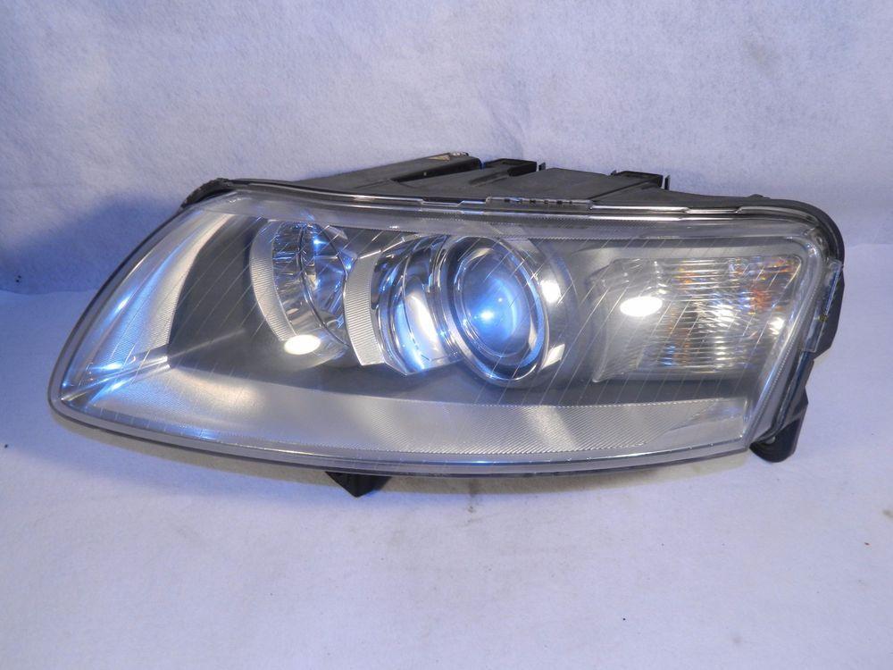 2005 2006 2007 Audi A6 Left Driver Side Xenon Hid Headlight Head Light Oem Used Audi Audi Hid Headlights Cars Trucks