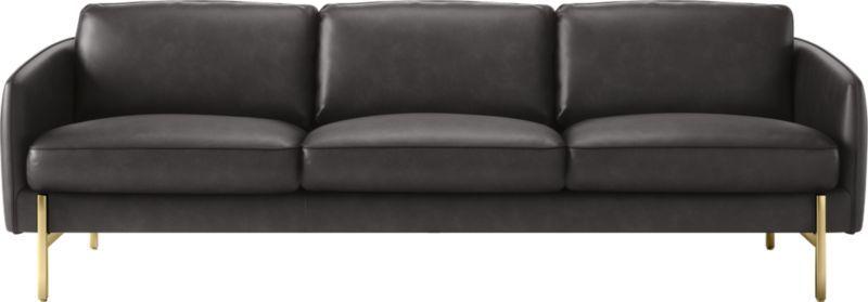 Hoxton Black Leather Sofa Reviews