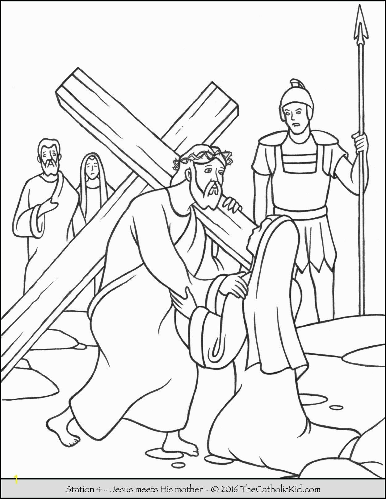 25 Wonderful Picture Of Coloring Pages Of Jesus