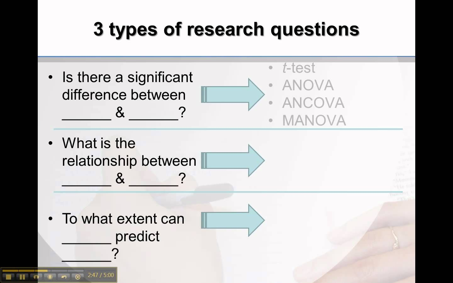 Types Of Research Questions For Quantitative Research
