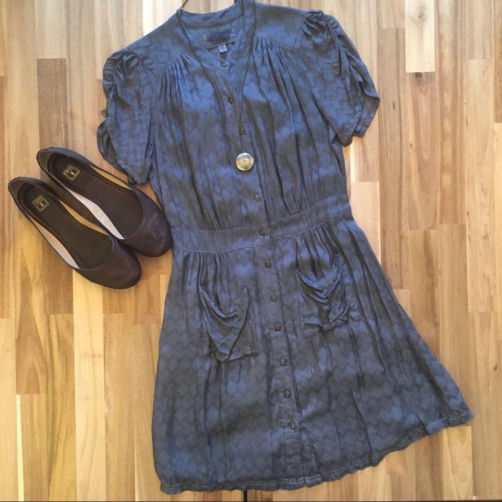 Ecot Button Up Dress
