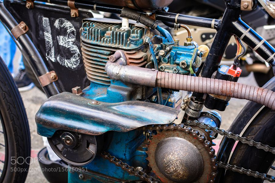 Curtis Arrow Motor by terryvpickens