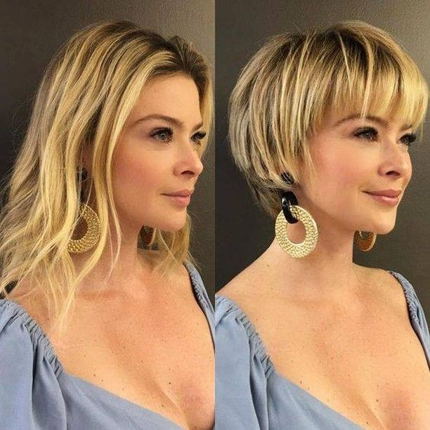 30 Summer Short Hairstyles For Thin Hair Girl in 2