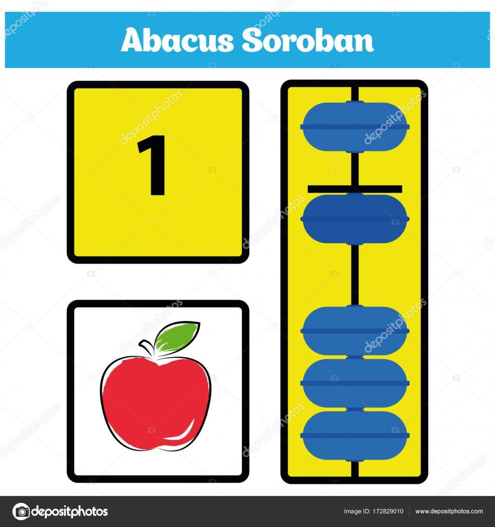 Download Abacus Soroban Kids Learn Numbers With Abacus Math Worksheet For Children Stock Illustration Learning Numbers Math Worksheet Abacus Math [ 1024 x 963 Pixel ]