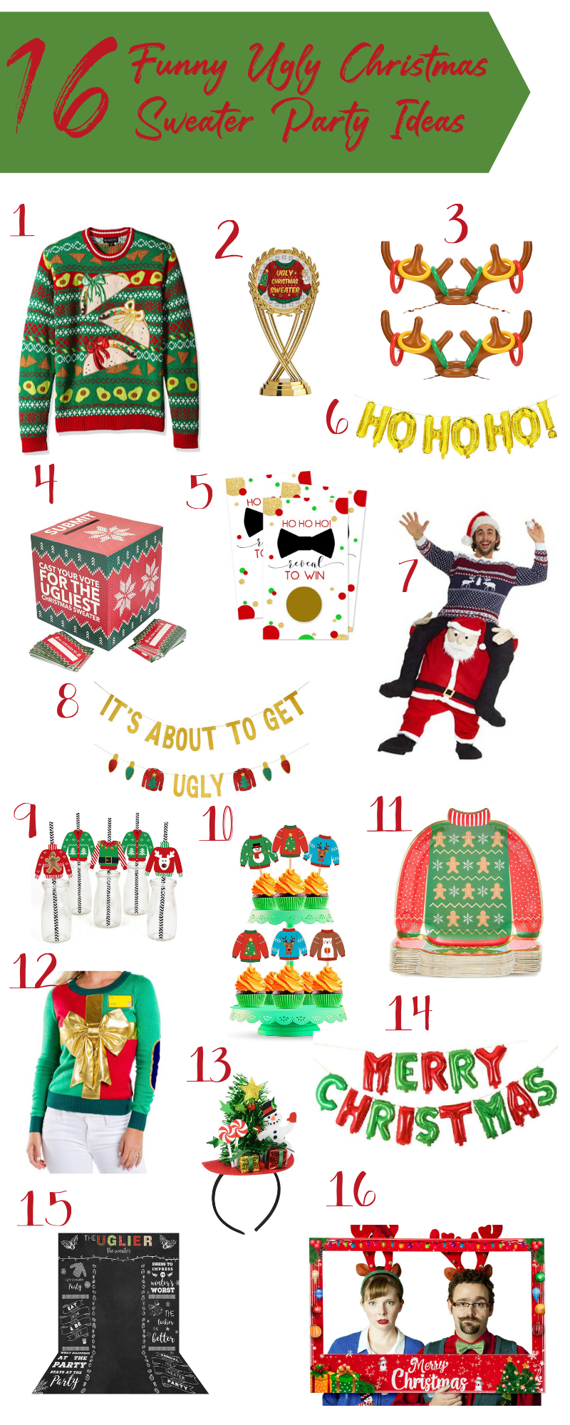 Funny Ugly Christmas Sweater Kids & Funny Ugly Christmas Sweater #uglychristmassweatersdiy