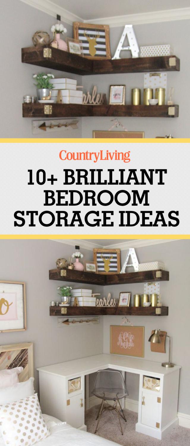 10 Brilliant Bedroom Storage Ideas You Need