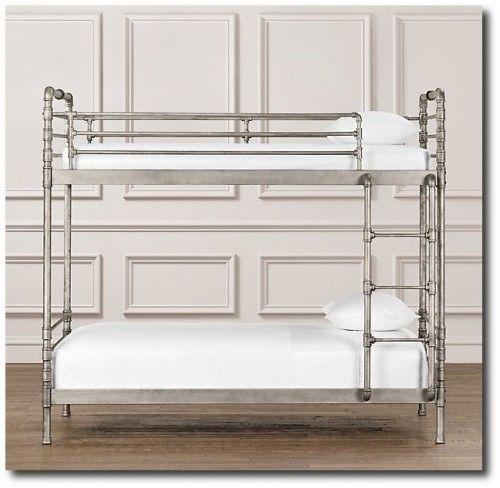 Restoration Hardware Industrial Steel Pipe Bunk Bed Diy Home