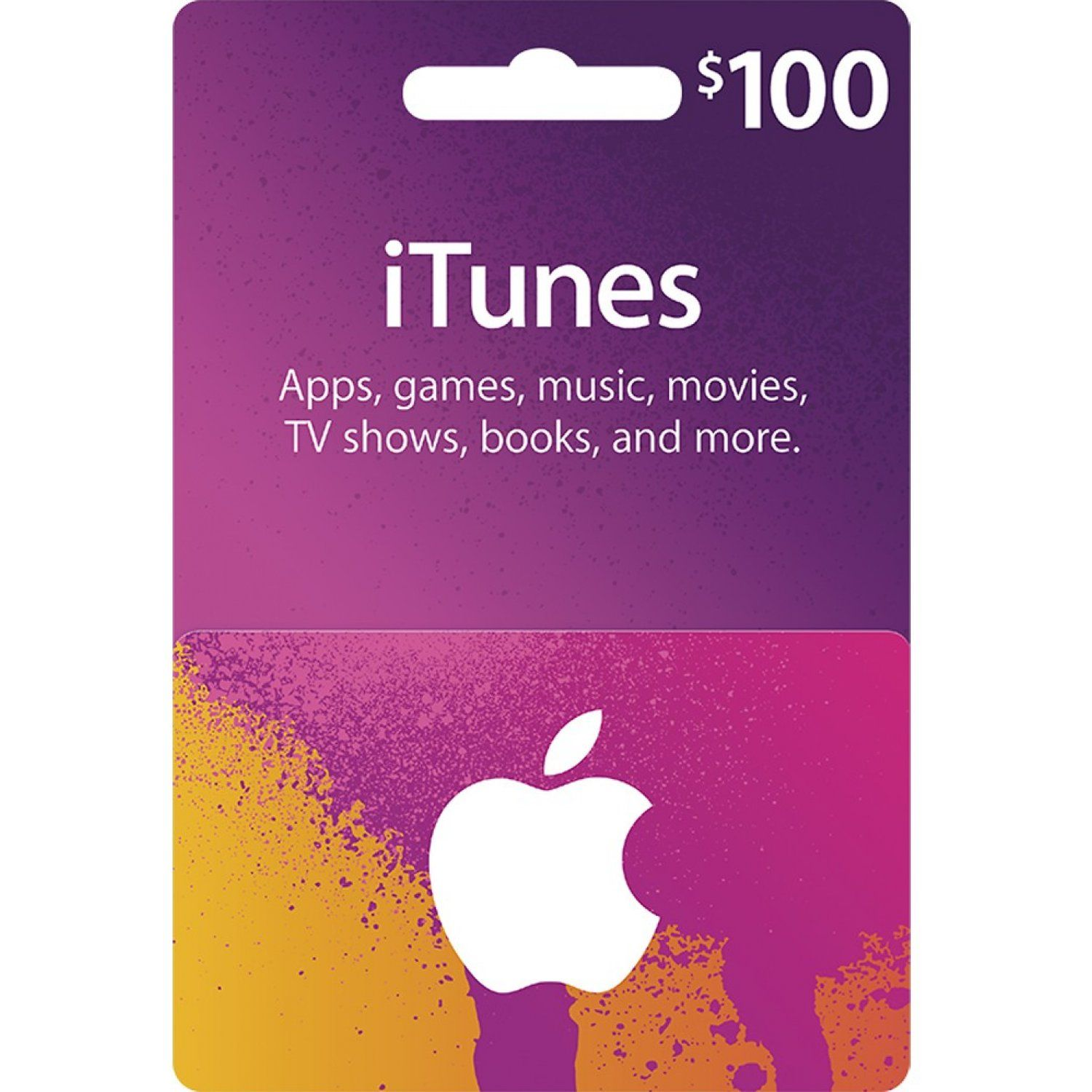 iTunes Card (USD 100 / for US accounts only) digital | Gift cards on