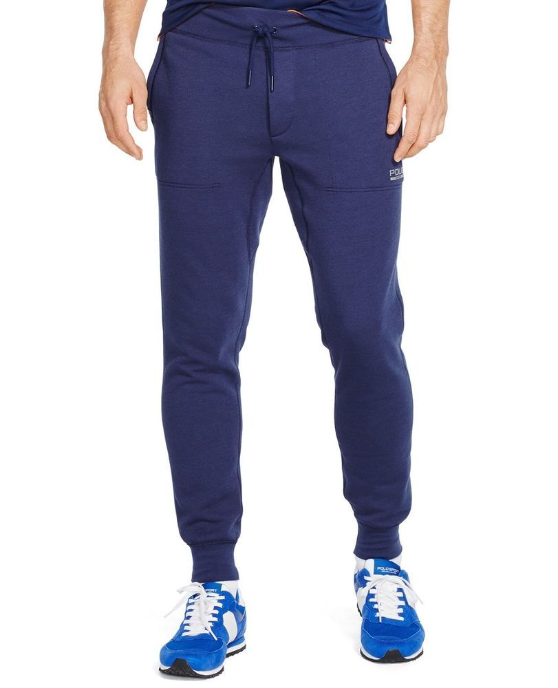 Polo Ralph Lauren Performance Men/'s Navy Great Outdoors Fleece Jogger Pants