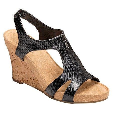 Women's A2 by Aerosoles Dream Plush Zipper Wedge Sandals