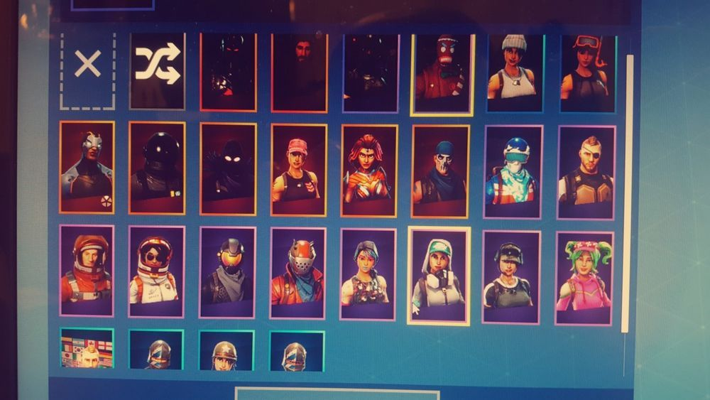Fortnite Account Pc Full Season 1 And 2 Battle Pass Rare