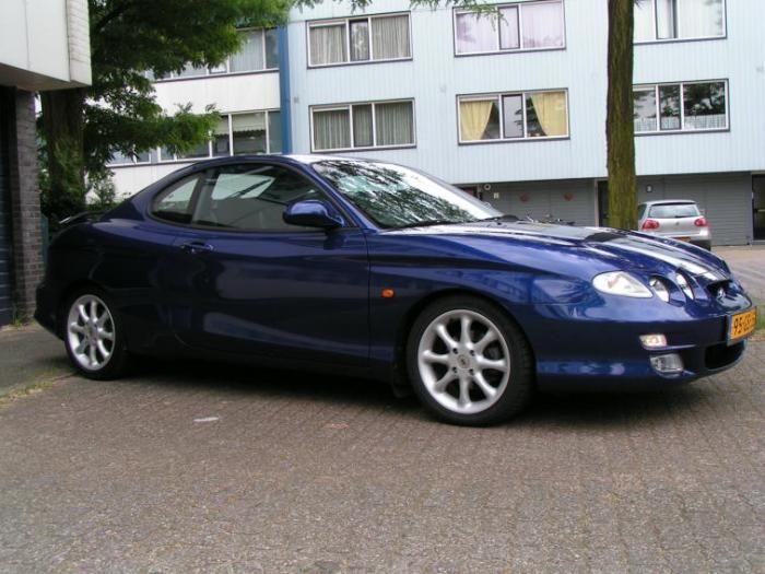 Hyundai Coupe FX · ConvertibleKorean