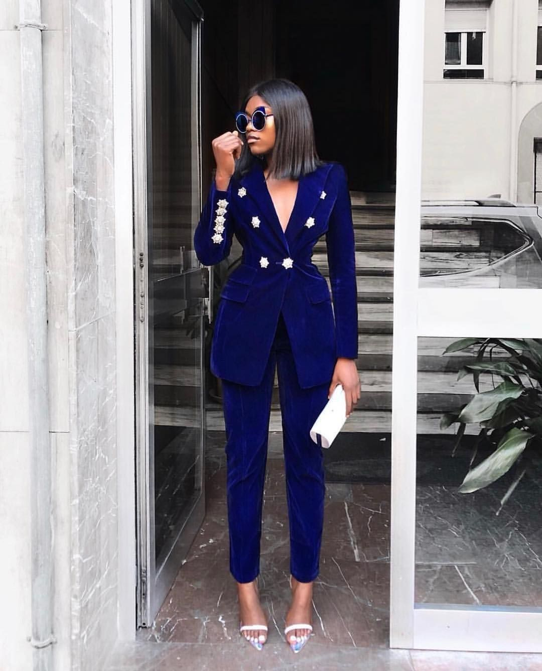 Pant Suits Tailored Sets And Colourful Coordinates For Women Mammypi Woman Suit Fashion Fashion Pant Suits For Women [ 1336 x 1080 Pixel ]