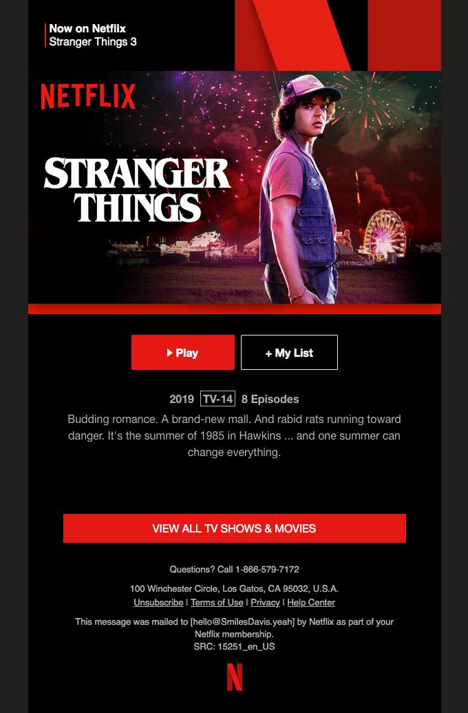 Pin By Elaiza Maloles On Emails Stranger Things Netflix Netflix All Tv