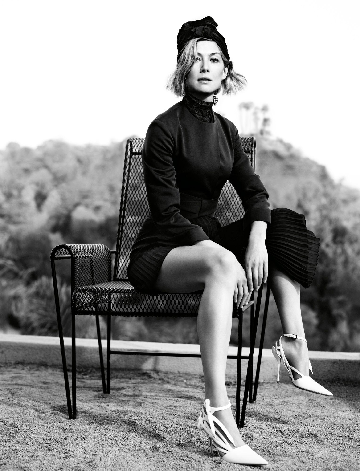 Rosamund Pike: Dark and Twisted - Rosamund Pike Dior Photo by David Fincher