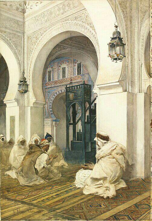 Peinture D Algerie Peintre Italien Filippo Bartolini 1861 1908