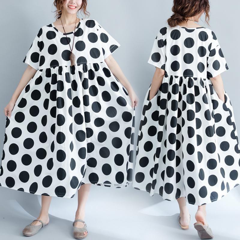 black linen dress plus size