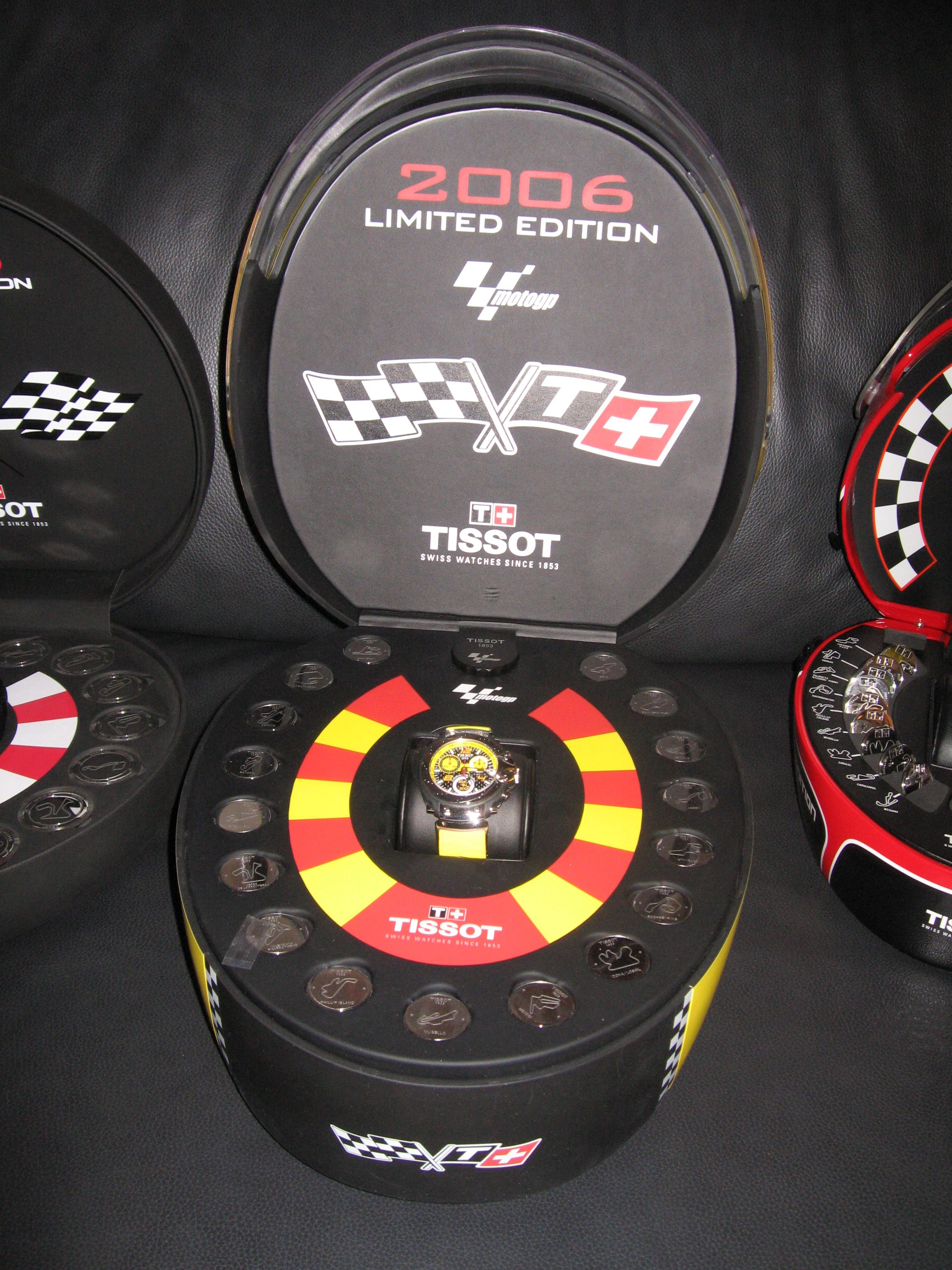 f1b8394c3fd Tissot Moto GP watches Limited edition collectors watches. Year 2006.