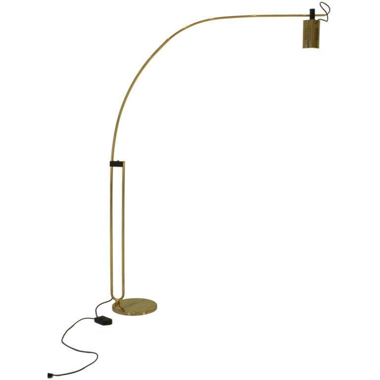 Hairpin Arc Boom Halogen Floor Lamp By Relco Products In