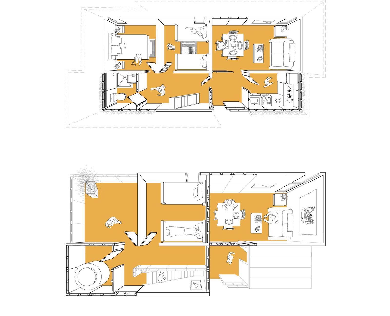 Tatiana Bilbao Affordable Housing For Mexico 4 Affordable Housing Social Housing Chicago Architecture