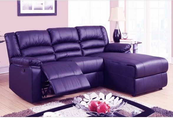 Pleasing Pretty Purple Sectional In 2019 Sofas For Small Spaces Ibusinesslaw Wood Chair Design Ideas Ibusinesslaworg