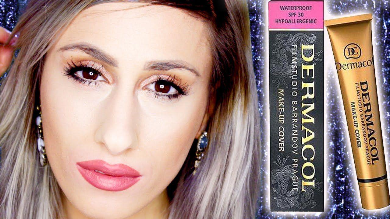 eBay Makeup £5 Full Coverage FOUNDATION // DERMACOL Makeup