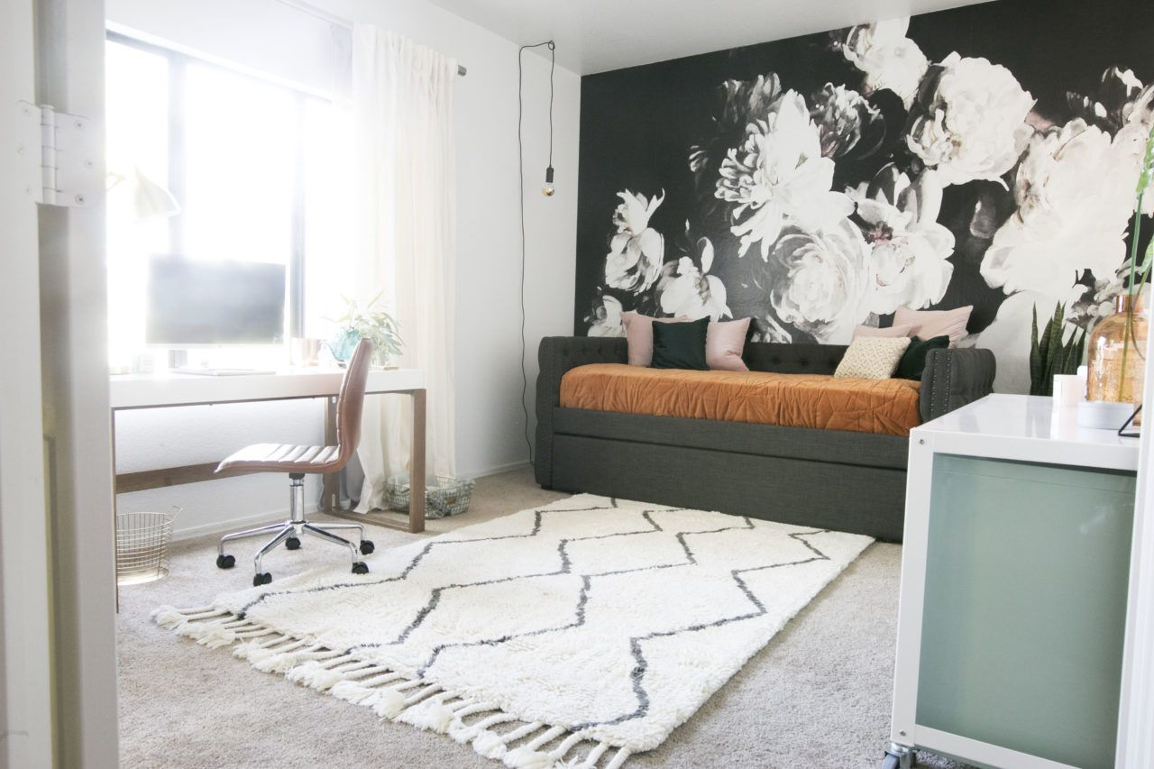 Een Moderne Makeover : Modern minimalist girl boss office makeover! mr. kate interior