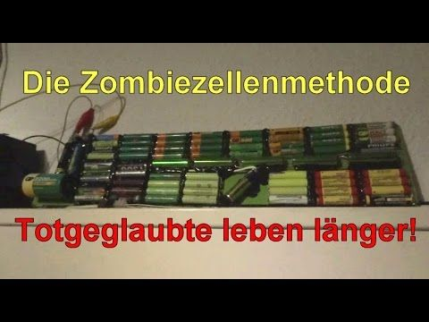 Energieautark sein - Zombiezellenmethode - YouTube