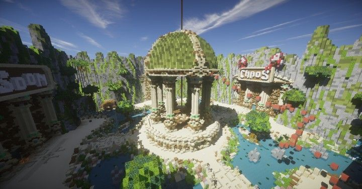 Hsk Network New Lobby Minecraft Project