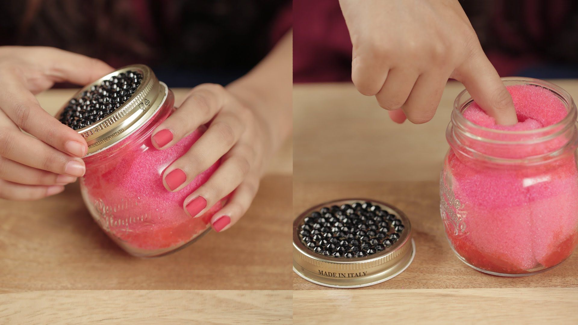 Dip And Twist Nail Polish Remover Jar DIY Glamrs (With