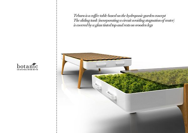 Botanic Hydroponic Furniture By Clement Sarrodie Horticool
