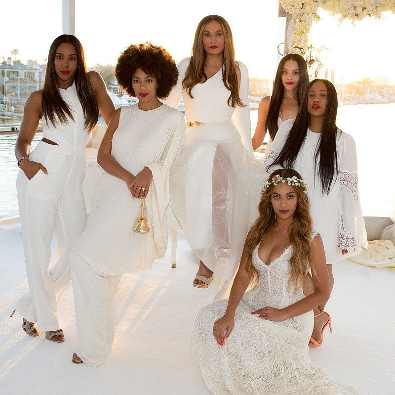 9 Bridal Beauty Tips From Beyoncé S Makeup Artist Mally: Celebrity Wedding Dresses By Amos Walls On Beyonce