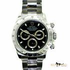 Rolex Daytona Stainless Steel Black Dial with 2 Year Warranty #Rolex #Watch #rolexdaytona