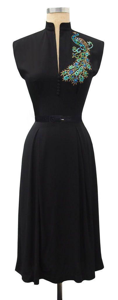 Click picture to view more. | Retro dress, Pretty dresses ...