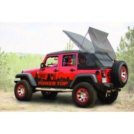 Jeep Tops Powertop Soft Top Kit For 07 13 Jeep Jk Wrangler