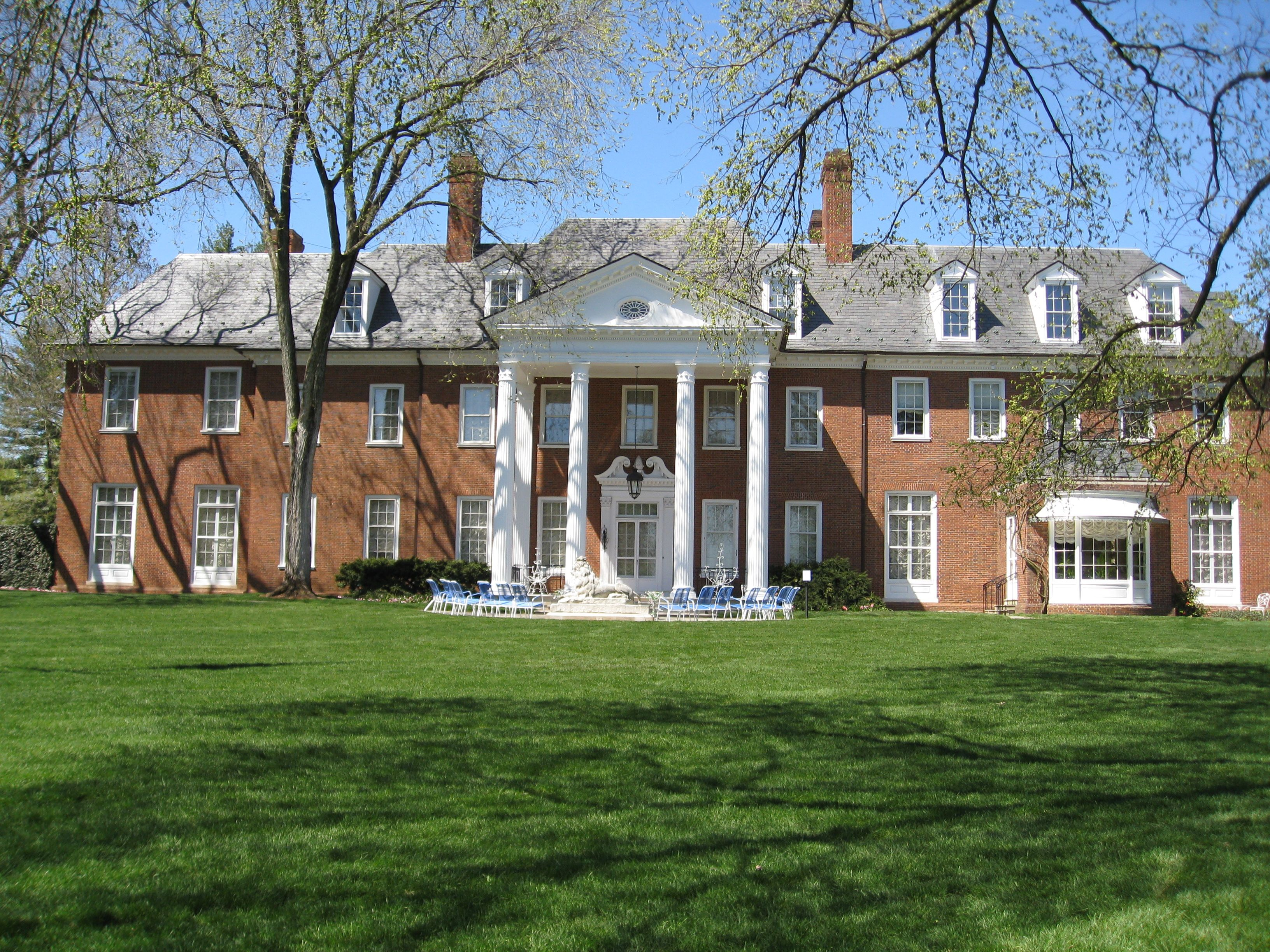 Hillwood Estate Washington Dc The Estate Is The Former Home And Garden Of Marjorie