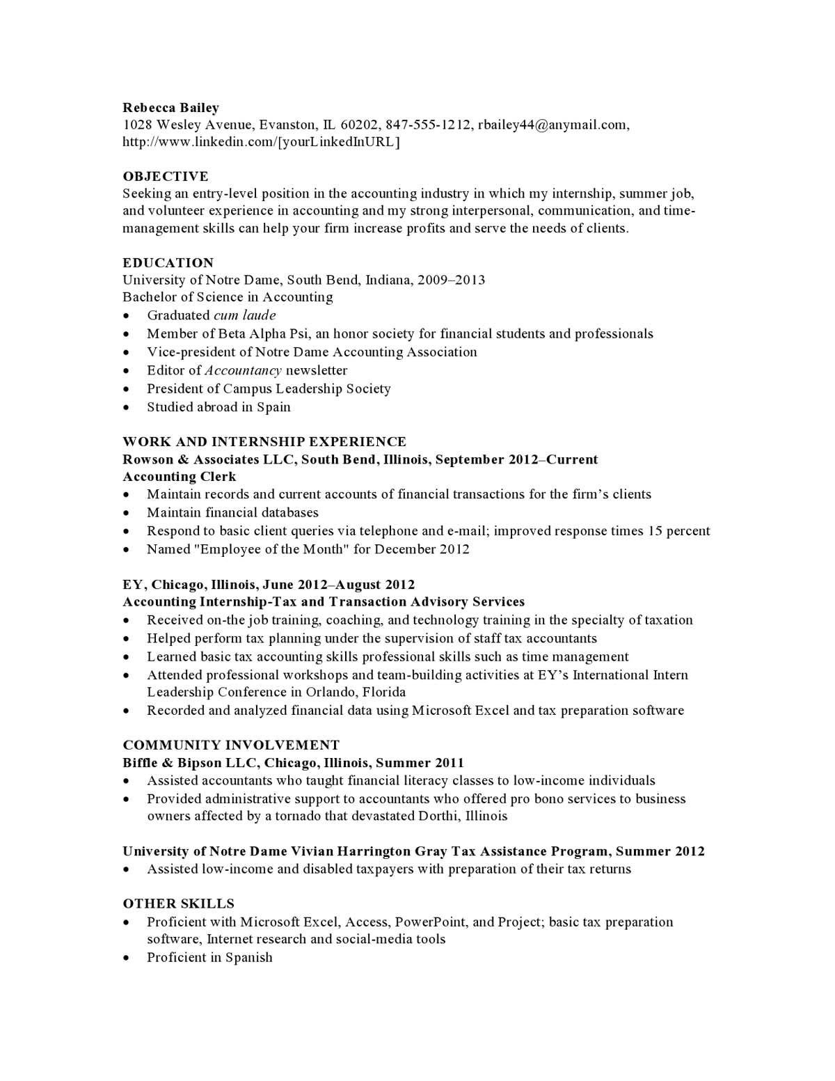 Resume Templates Social Work (3) TEMPLATES EXAMPLE