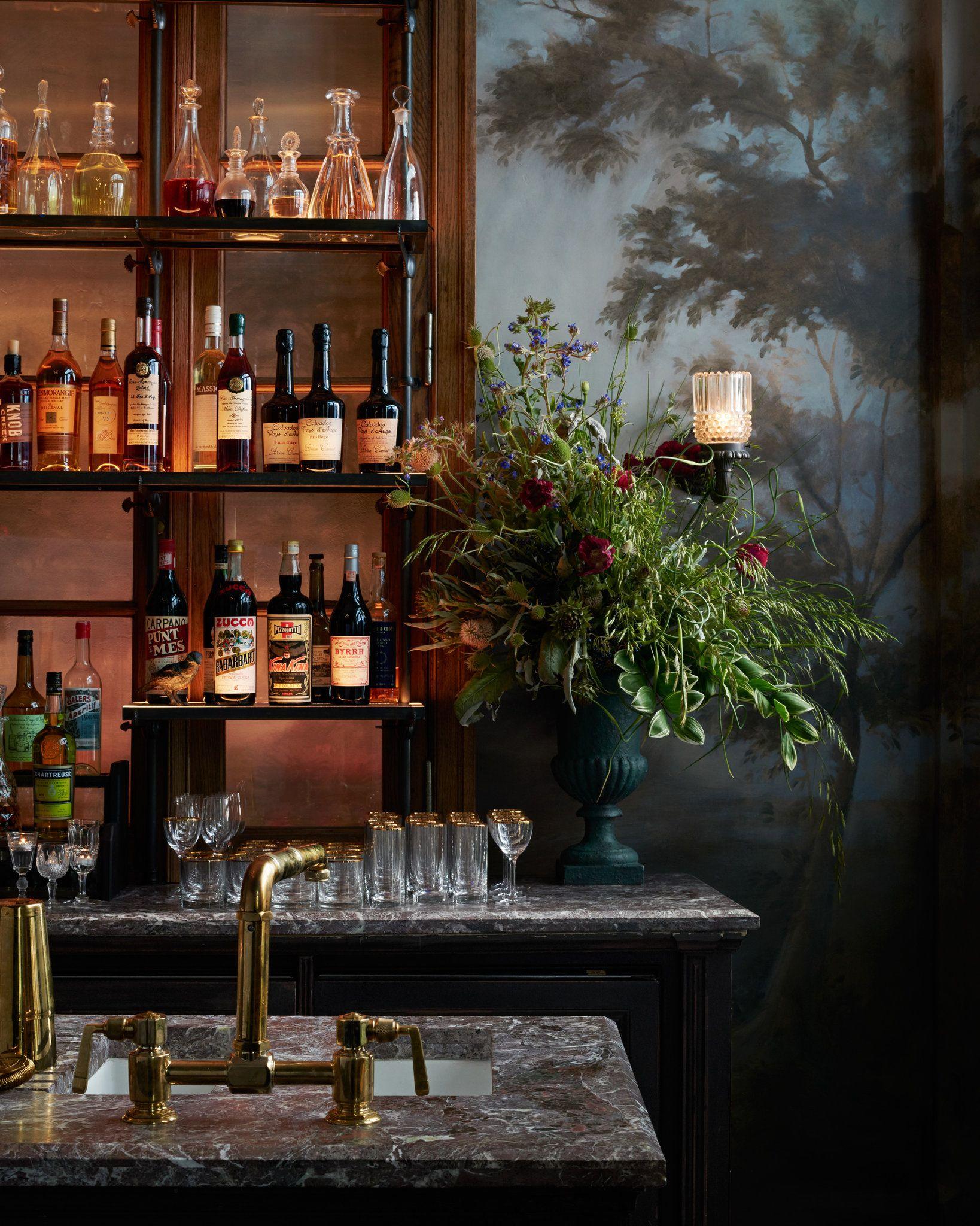 Inside Le Coucou Modern Restaurant Design