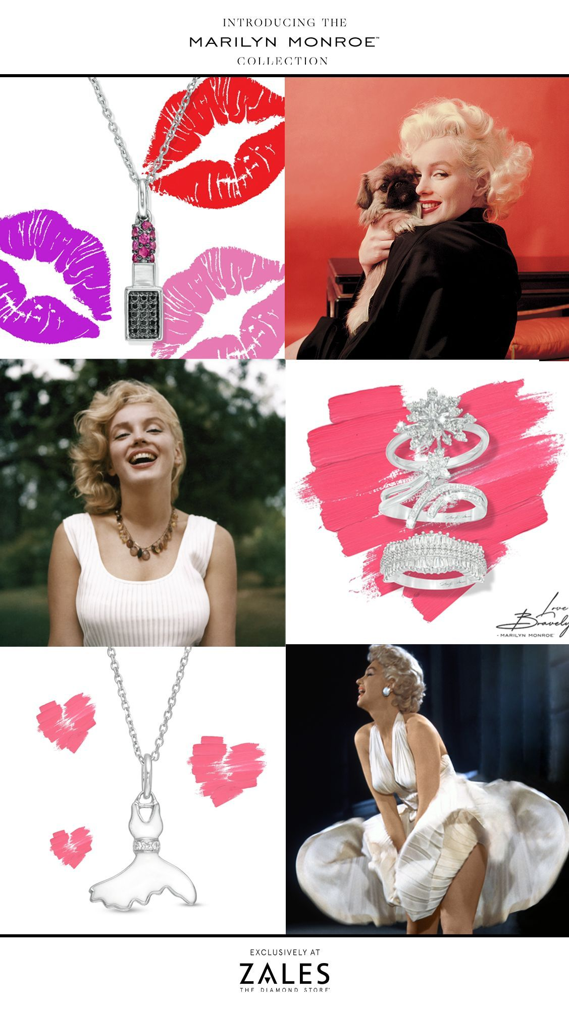 16++ Marilyn monroe jewelry collection at zales info