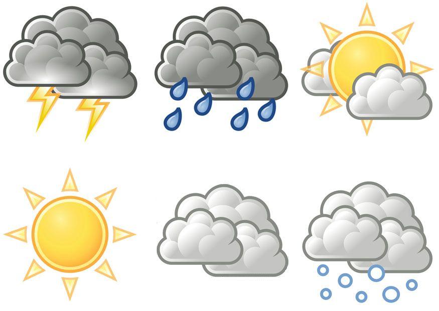 Free Printable Weather Symbols Pre K Weather Pinterest Weather